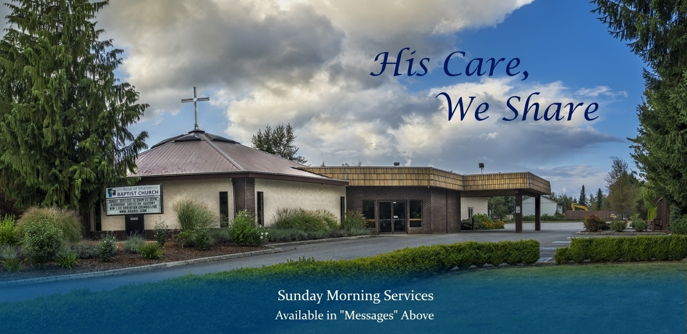 "sunday morning services available at ""messages"" above"