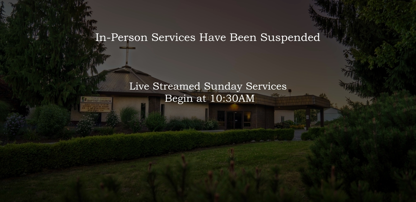 Live Streamed Sunday Services Begin at 10:30AM
